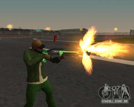Lindas fotos de armas para GTA San Andreas segunda tela
