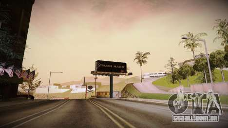 The not China ENB v2.1 Final para GTA San Andreas terceira tela