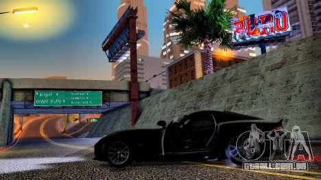 ENB Cal HD por meio do PC para GTA San Andreas por diante tela