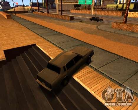 ENB v3.0.0 para PC fraco para GTA San Andreas por diante tela