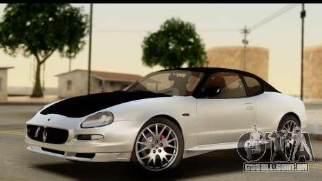 Maserati Gransport 2006 para GTA San Andreas interior