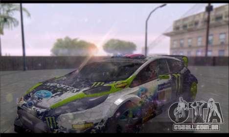 ENB GTA V para PC fraco para GTA San Andreas sexta tela