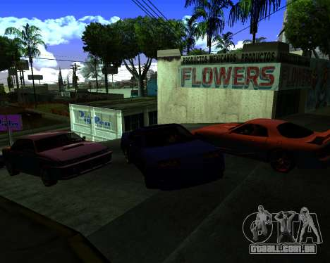Warm California ENB para GTA San Andreas terceira tela