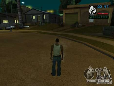 CLEO HP em números para GTA San Andreas segunda tela