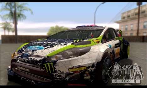 ENB GTA V para PC fraco para GTA San Andreas quinto tela