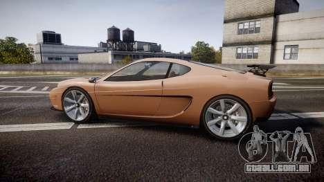 Grotti Turismo GT Carbon para GTA 4 esquerda vista