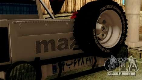 Mazda Pickup Full Sport para GTA San Andreas