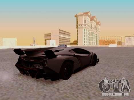 Lamborghini Veneno para GTA San Andreas vista direita