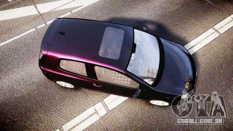 Volkswagen Golf Mk6 GTI rims1 para GTA 4 vista direita