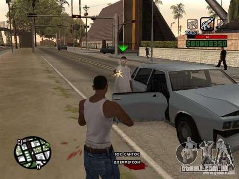 CLEO HP em números para GTA San Andreas terceira tela