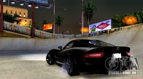 ENB Cal HD por meio do PC para GTA San Andreas terceira tela