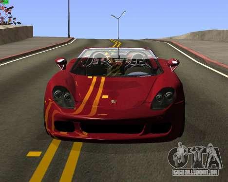 ENB JP para GTA San Andreas por diante tela