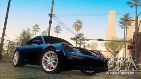 Vanilla ENB Series para GTA San Andreas segunda tela