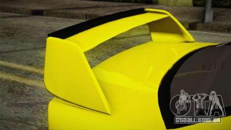 BMW M3 E36 DRY Garage para GTA San Andreas vista direita