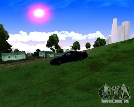 Warm California ENB para GTA San Andreas quinto tela
