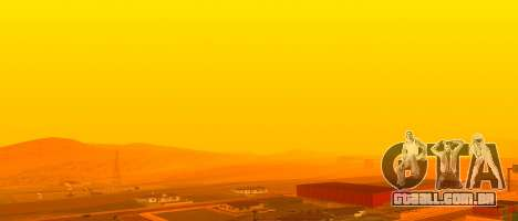 Brilhante Colormod para GTA San Andreas por diante tela