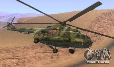 Mi-8 para GTA San Andreas