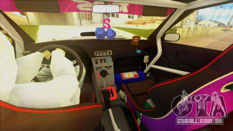 Elegy Undercover para GTA San Andreas vista inferior