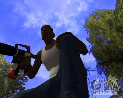 M4A1-S Syrex CS:GO para GTA San Andreas quinto tela