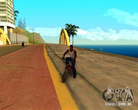 ENB v3.0.1 para GTA San Andreas quinto tela
