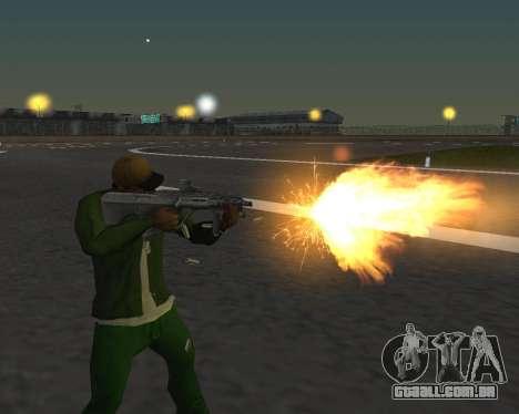 Lindas fotos de armas para GTA San Andreas terceira tela