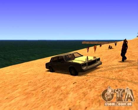 ENB v3.0.0 para PC fraco para GTA San Andreas terceira tela