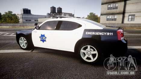 Dodge Charger 2010 LCPD [ELS] para GTA 4 esquerda vista