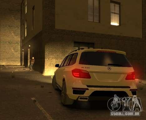 Mercedes-Benz GL500 2014 para GTA 4 vista direita