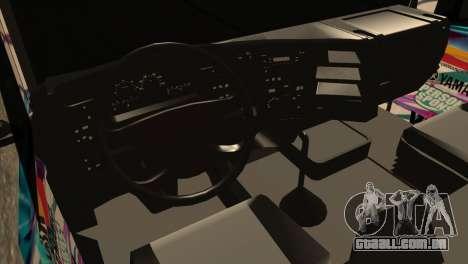 Scania 124G R400 Hatsune Miku Livery para GTA San Andreas vista direita