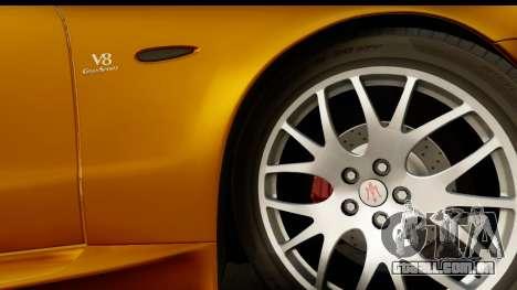Maserati Gransport 2006 para GTA San Andreas vista traseira