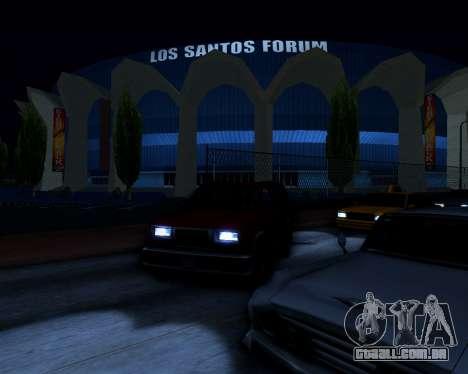ENB v3.0.1 para GTA San Andreas terceira tela