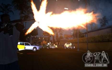 IMFX Gunflash para GTA San Andreas
