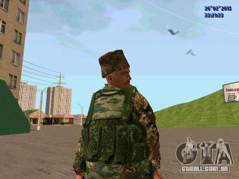 Não Cossaco para GTA San Andreas sétima tela