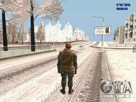 As forças especiais da URSS CoD Black Ops para GTA San Andreas terceira tela