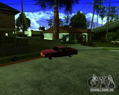 Warm California ENB para GTA San Andreas