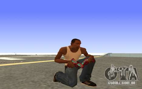 Glock-18 a água do CS:GO para GTA San Andreas por diante tela