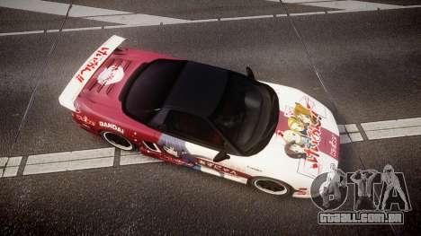 Honda NSX 1998 [EPM] k-on tainaka ritsu para GTA 4 vista direita