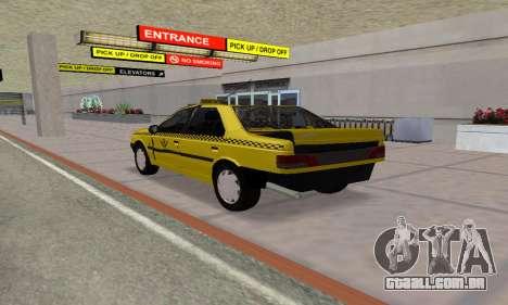 Peugeot 405 Roa Taxi para GTA San Andreas