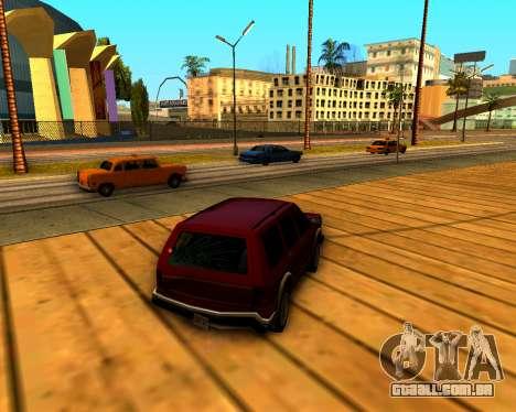 ENB v3.0.1 para GTA San Andreas segunda tela