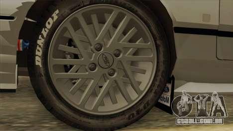 Ford Sierra Sapphire 4x4 RS Cosworth para GTA San Andreas vista direita