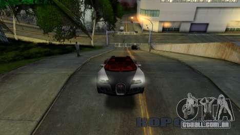 ENB Version 1.5.1 para GTA San Andreas quinto tela