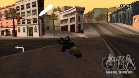 Navegador GPS com voz russo para GTA San Andreas terceira tela
