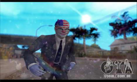 ENB GTA V para PC fraco para GTA San Andreas segunda tela