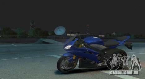 YZF R6 para GTA 4