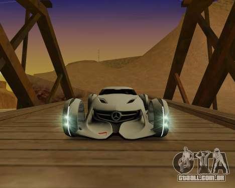 Mercedes-Benz Silver Arrows para GTA San Andreas esquerda vista