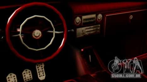 EFLC TLaD Vapid Slamvan SA Mobile para GTA San Andreas vista direita