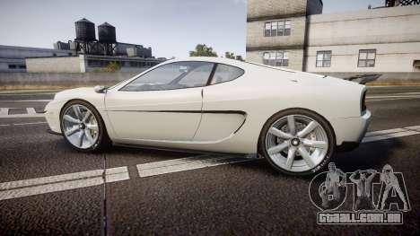 Grotti Turismo GT Carbon v2.0 para GTA 4 esquerda vista