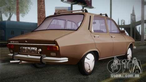 Dacia 1300 Biharia para GTA San Andreas esquerda vista