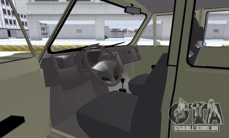Aro 244 para GTA San Andreas vista inferior