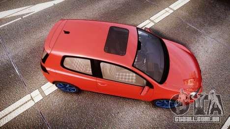 Volkswagen Golf Mk6 GTI rims3 para GTA 4 vista direita